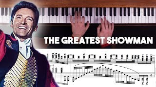 Video The Greatest Showman Advanced Piano Medley with Sheet Music MP3, 3GP, MP4, WEBM, AVI, FLV Agustus 2018