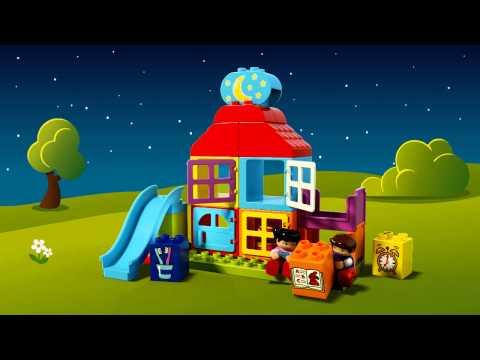 Vidéo LEGO Duplo 10616 : Ma première maison