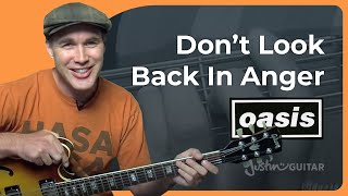How to play Don't Look Back In Anger by Oasis (Rock Guitar Lesson SB-312)