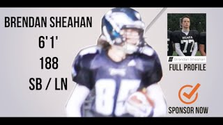 Brendan Sheahan Class 2016 (SB/Long-Snapper) HESN 2K15 Football Highlights