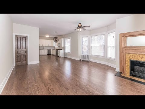 A spacious, just-renovated Lincoln Park 2-bedroom, steps from the park