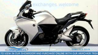 8. 2012 Honda VFR 1200 Semi-Automatic Overview | Motorcycles for Sale from SoManyBikes.com