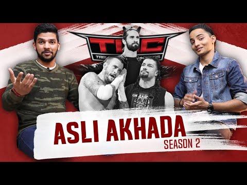 Asli Akhada Episode 1 - KADAK SHOW🔥 | CM Punk/Roman Main Event, WWE Vs AEW, TLC & more