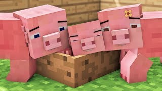 Video Pig Life - Minecraft Animation MP3, 3GP, MP4, WEBM, AVI, FLV September 2018