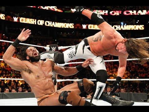 18 December 2017 WWE Raw  - Aj Styles Vs Jinder Mahal -  Full Match