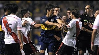 Video Superclasico - Boca Juniors vs. River Plate (Fights, Fouls, Red Cards) MP3, 3GP, MP4, WEBM, AVI, FLV Agustus 2018