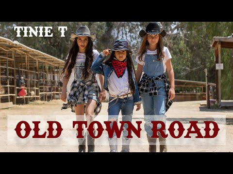 Lil Nas X - Old Town Road (Cover by 8 year old Tinie T) | MihranTV