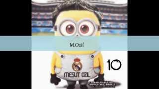 minions real madrid