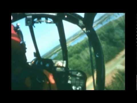Beautiful in-flight footage of...