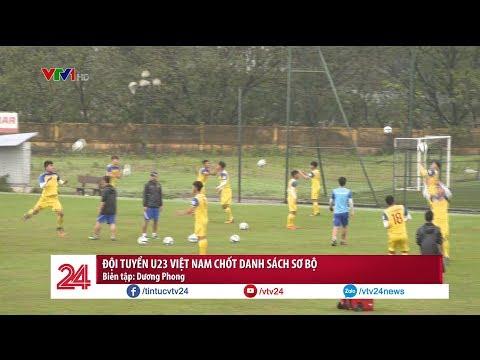 Tổng hợp thể thao 19/03: Đội tuyển U23 Việt Nam chốt danh sách sơ bộ | VTV24 - Thời lượng: 2:48.