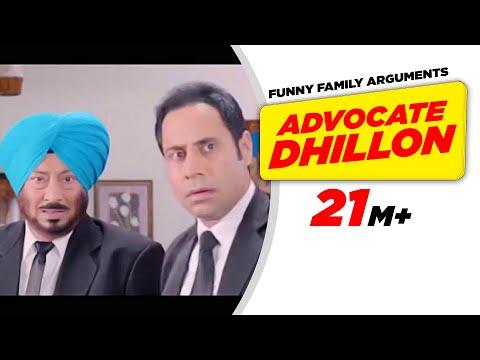 Punjabi Comedy 1 | Carry On Jatta - Advocate Dhillon Funny Family Arguments | Comedy Scene