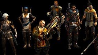 dragon age origins новые прически для персонажей