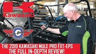 1. FULL REVIEW: 2019 Kawasaki Mule Pro FXT-EPS by Tom