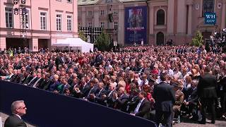 Video President Trump Gives Remarks to the People of Poland MP3, 3GP, MP4, WEBM, AVI, FLV Januari 2018