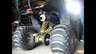 9. POLARIS SCRAMBLER 500 DG Exhaust sound