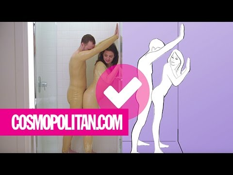 Shower Sex Positions Attempted by Real People | Cosmopolitan