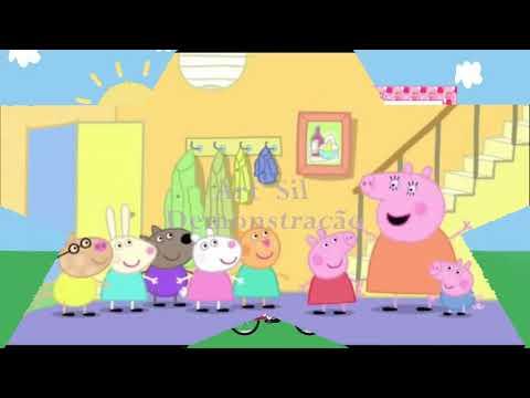 Convite Animado PEPPA PIG