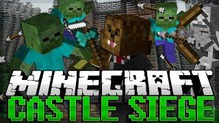 Minecraft: Castle Siege (ZOMBIE APOCALYPSE)