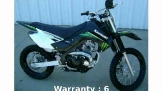 9. 2009 Kawasaki KLX 140L Monster Energy - Features