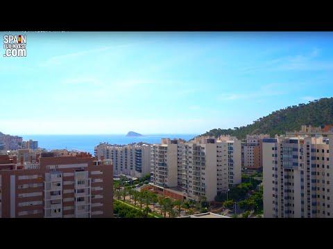 249900€/Элитный пентхаус с видом на море в Ла Кале/Квартиры в Бенидорме/Недвижимость в Испании 2020