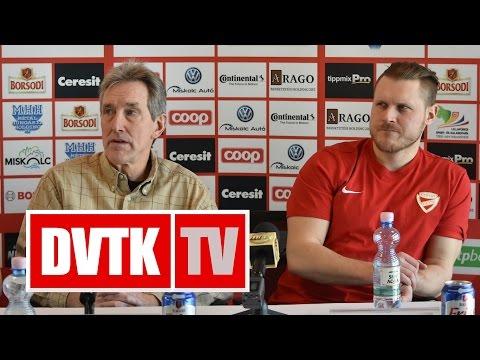 """""""Minden mérkőzés 0-0-ról indul""""   2017. január 20.   DVTK TV"""