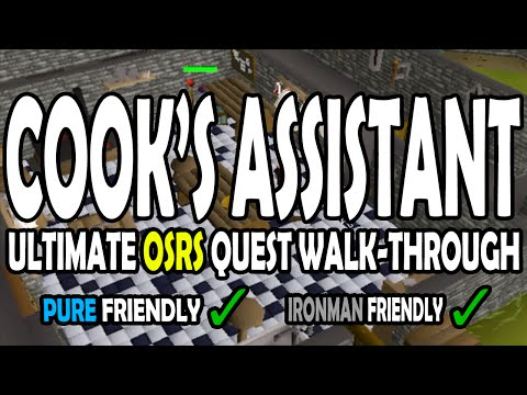 [OSRS] Cook's Assistant Quest Guide For Pures And Ironmen On Old School RuneScape