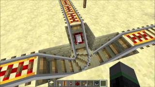 Different Types of Empty Minecart Detectors (Minecraft)