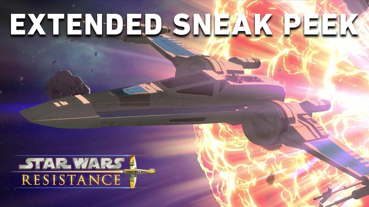 Yeni Star Wars Çizgi Filmi Resistance'dan Yeni Video Geldi, Tanıdık Karakterler İçeriyor! resimi