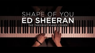 Download Lagu Ed Sheeran - Shape of You | The Theorist Piano Cover Mp3