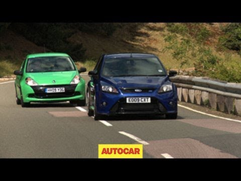 renault clio cup 200 vs ford focus rs