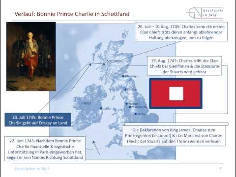 Großbritannien: Der Zweite Jakobiter-Aufstand in Schottland (1745-1746)