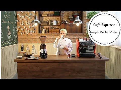 Café Espresso: Longo x Duplo x Carioca
