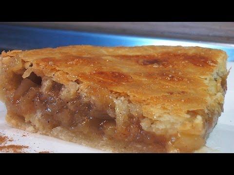 Яблочный слоеный пирог рецепт