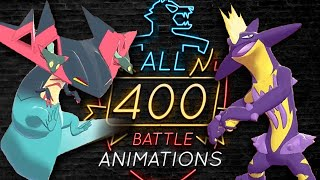 Pokemon Sword and Shield ALL 400 BATTLE ANIMATIONS Complete Full Pokedex Gameplay by PokeaimMD