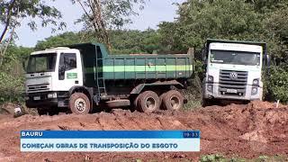DAE inicia obra de transposição do Rio Bauru