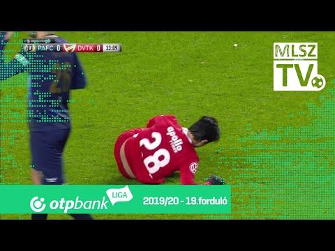 19. forduló: PAFC - DVTK 2-2 (0-0)