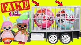 Download Lagu Fake LOL Surprise Dolls Opening + LQL Lil Sisters! Mp3