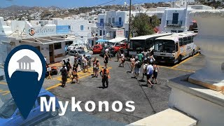 Mykonos | Getting around Mykonos with the bus