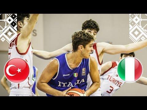 Nazionale Under 18, Italia batte Turchia, oggi match per il nono posto