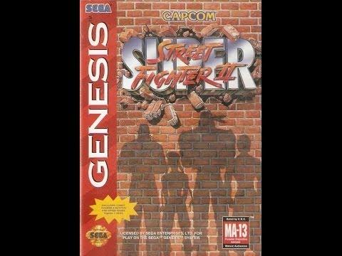 super street fighter ii the new challengers sega genesis