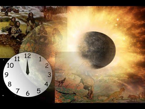 History of  Earth  Origin Timeline in 24 Hours