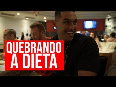 Nutricionista - QUASE PASSOU MAL  QUEBRANDO A DIETA