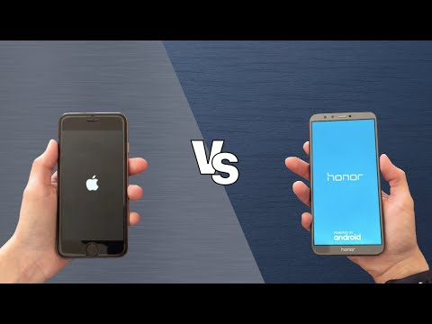 Iphone 6s Vs Honor 9 Lite