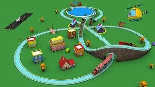Video Trains for children - cartoon for kid - choo choo train - kids railway - Toy Factory cartoon MP3, 3GP, MP4, WEBM, AVI, FLV September 2017
