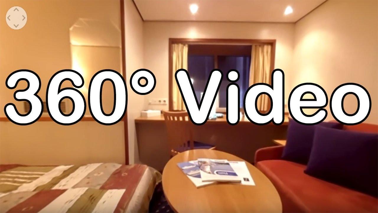 360 Grad Video: Kabine 201, Kat. A - MS Rousse Prestige