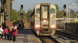 Amtrak And Metrolink Train Action In Fullerton: Private Cars, Horn Shows,&More!