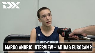 Marko Andric Interview - Adidas Eurocamp
