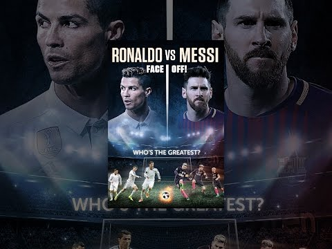 Ronaldo Vs. Messi: Faceoff!