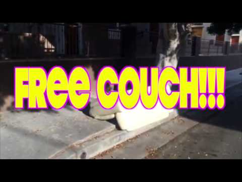 Free couch!!! [0:06]