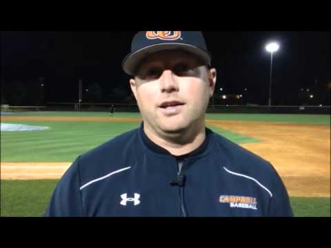 Mullins powers Camels over NCCU 11-8
